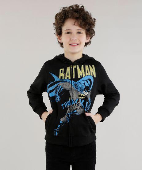 Blusao-Estampado-Batman-em-Moletom-de-Algodao---Sustentavel-Preto-8470166-Preto_1