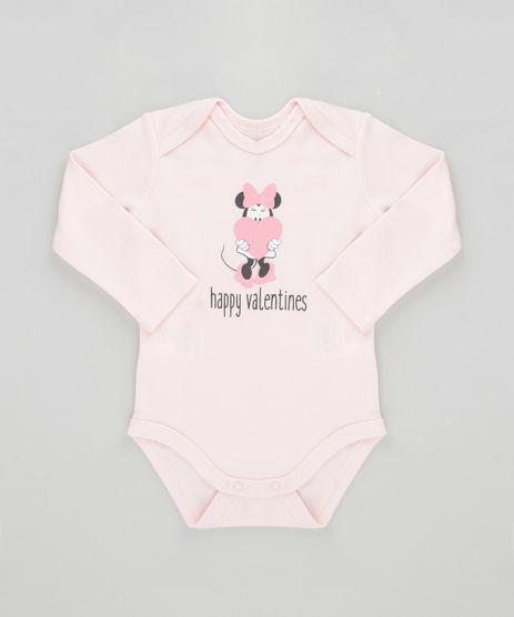 Body-Minnie-em-Algodao---Sustentavel-Rosa-Claro-8488129-Rosa_Claro_1
