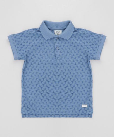 Polo-em-Piquet-Estampada-Azul-8581650-Azul_1