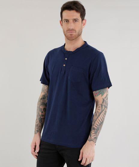 Camiseta-com-Bolso-Azul-Marinho-8438533-Azul_Marinho_1