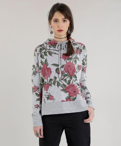 Blusao-Estampado-Floral-em-Moletom-Cinza-Mescla-8638214-Cinza_Mescla_1