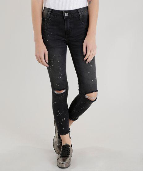 Calca-Jeans-Cigarrete-Sawary-Preta-8683001-Preto_1