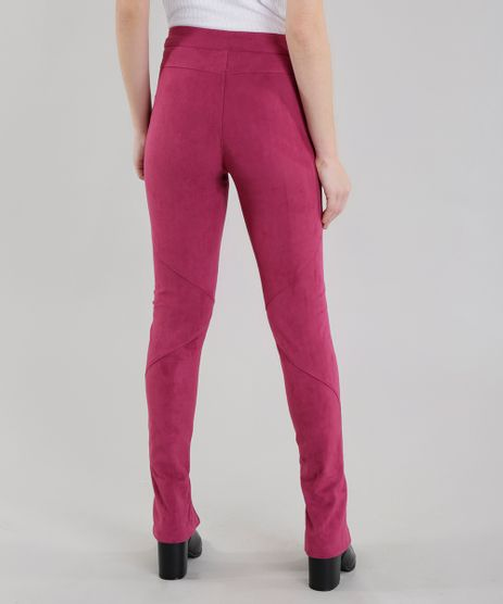 Calca-Skinny-Joulik-em-Suede-Rosa-Escuro-8558081-Rosa_Escuro_2
