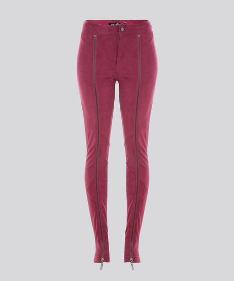 Calca-Skinny-Joulik-em-Suede-Rosa-Escuro-8558081-Rosa_Escuro_5