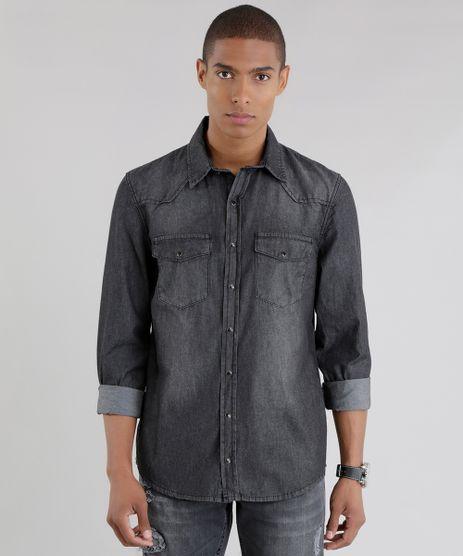 Camisa-Jeans-Preta-8640060-Preto_1