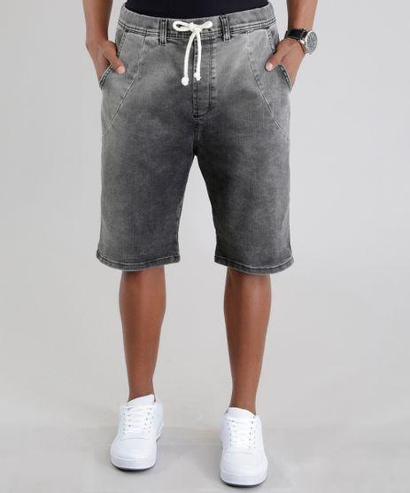 Bermuda-Jeans-Relaxed-Preta-8589980-Preto_1