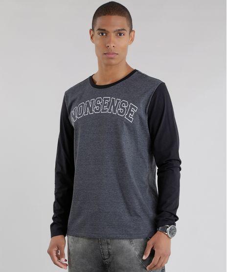 Camiseta--Nonsense--Cinza-Mescla-Escuro-8602400-Cinza_Mescla_Escuro_1