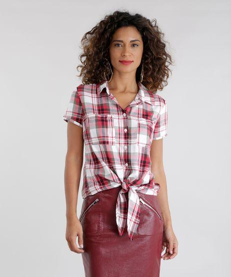 Camisa-Xadrez-com-No-Vermelha-8623312-Vermelho_1