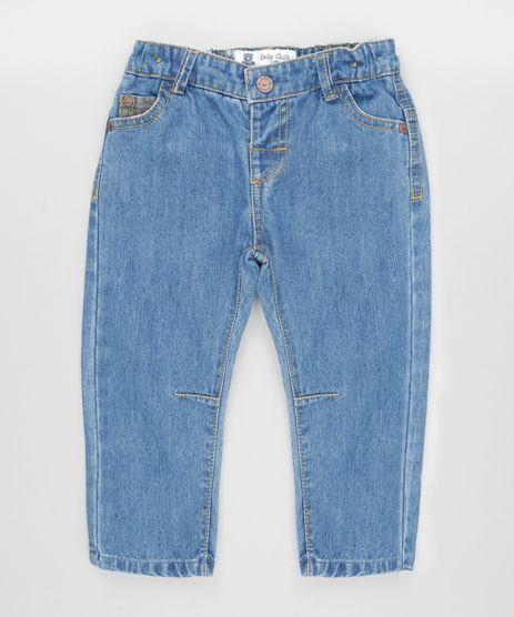 Calca-Jeans-em-Algodao---Sustentavel-Azul-Medio-8495967-Azul_Medio_1