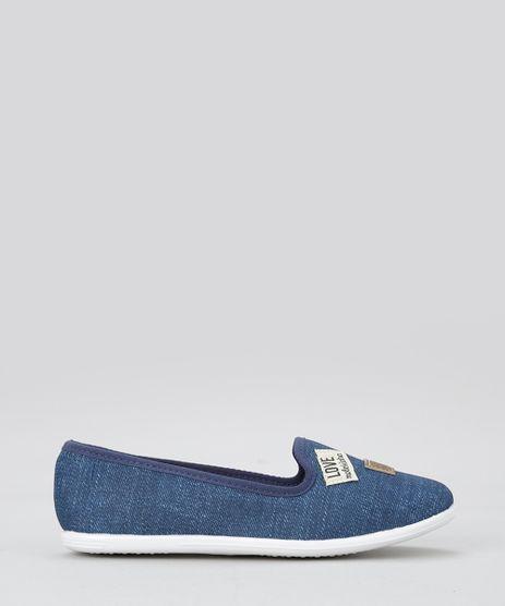 Slipper-Molekinha-Azul-Medio-8676272-Azul_Medio_1