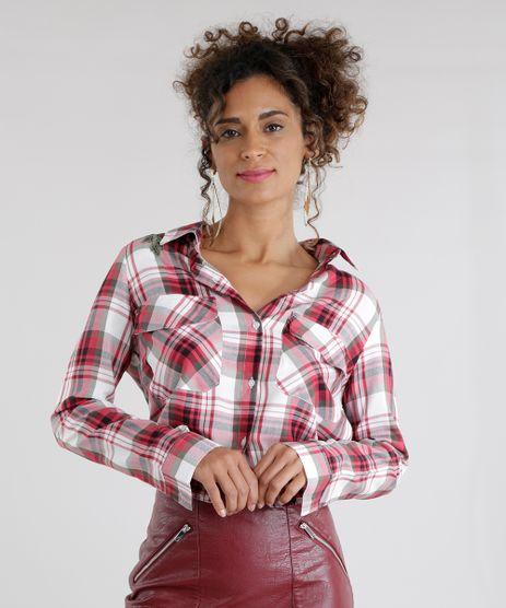 Camisa-Xadrez-com-Bordado-Vermelha-8623541-Vermelho_1