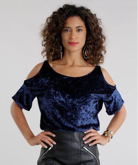 Blusa-Open-Shoulder-em-Veludo-Molhado-Azul-Marinho-8656859-Azul_Marinho_1