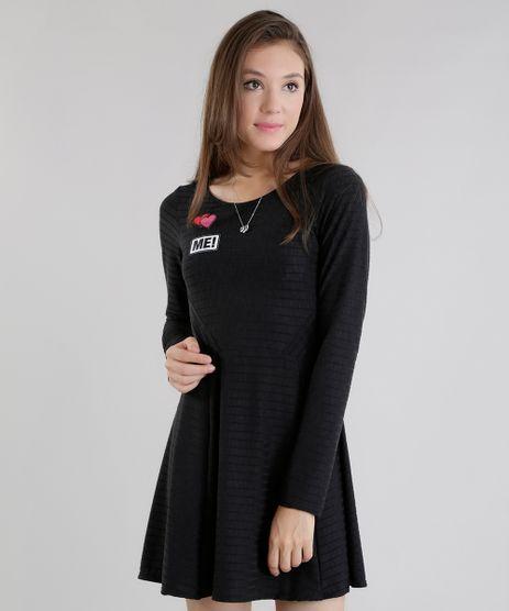 Vestido-com-Patchs-Preto-8559638-Preto_1