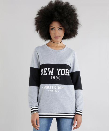 Blusao-em-Moletom--New-York-1990--Cinza-Mescla-8648891-Cinza_Mescla_1