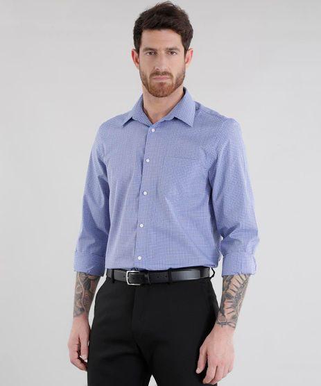 Camisa-Comfort-Listrada-Azul-8456532-Azul_1