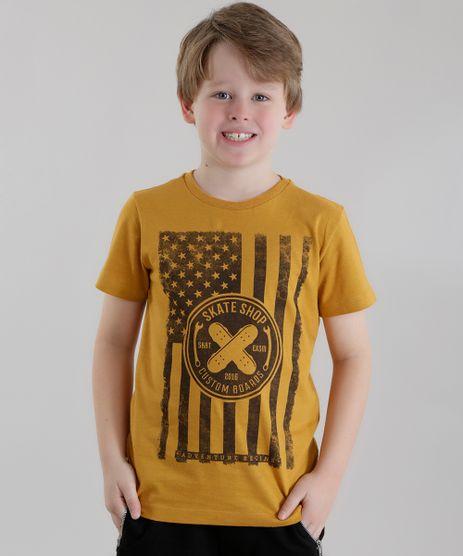 Camiseta--Skate-Shop--Amarelo-Escuro-8614848-Amarelo_Escuro_1