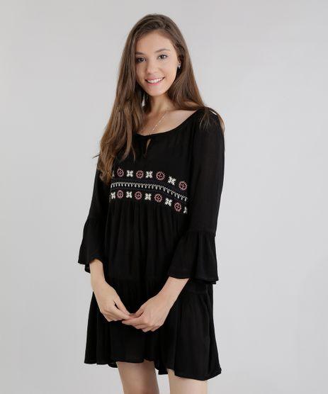 Vestido-Amplo-com-Bordados-Preto-8443180-Preto_1