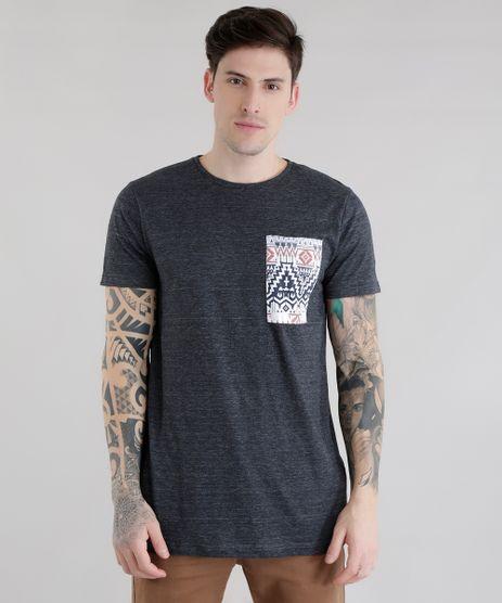 Camiseta-Longa-com-Bolso-Estampado-Cinza-Mescla-Escuro-8617239-Cinza_Mescla_Escuro_1