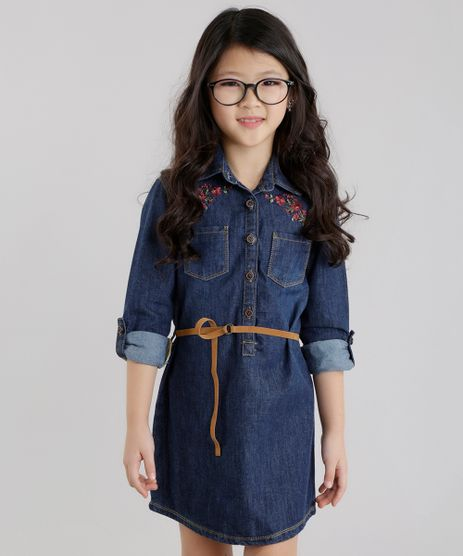 Vestido-Chemise-Jeans-com-Cinto-Azul-Escuro-8631422-Azul_Escuro_1
