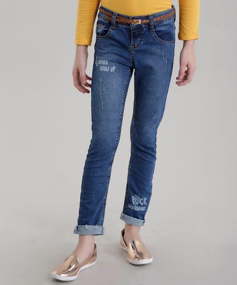 Calca-Jeans-com-Cinto-Azul-Escuro-8634450-Azul_Escuro_1