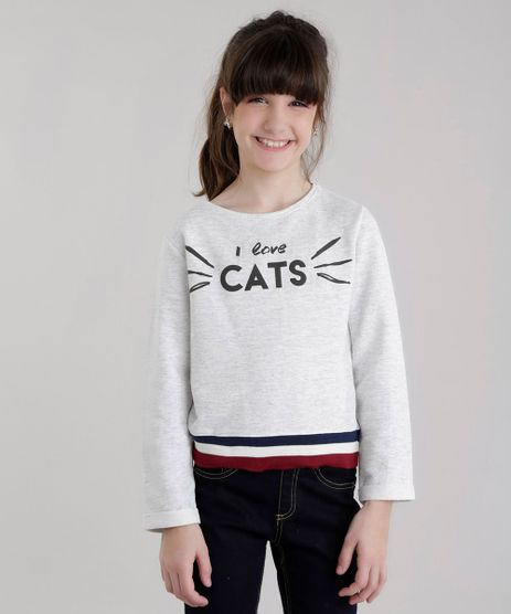 Blusao--I-Love-Cats--em-Moletom-Cinza-Mescla-Claro-8620009-Cinza_Mescla_Claro_1