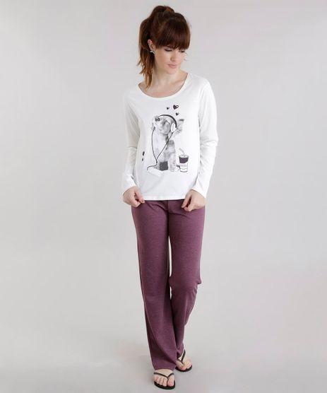 Pijama-com-Estampa-de-Cachorro-Off-White-8619762-Off_White_1