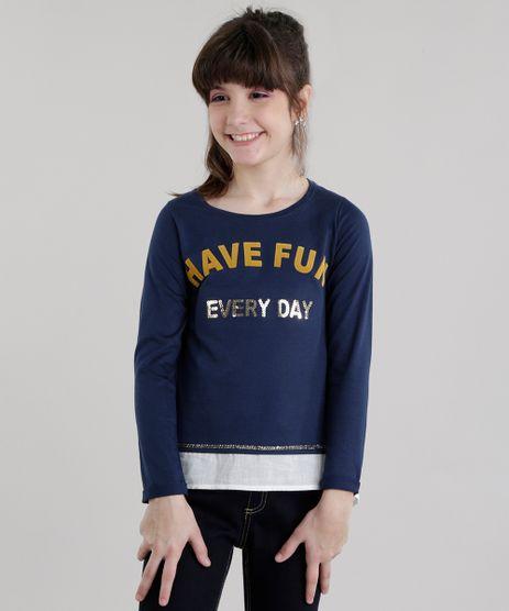 Blusa--Have-Fun-Every-Day--com-Paetes-Azul-Marinho-8617546-Azul_Marinho_1