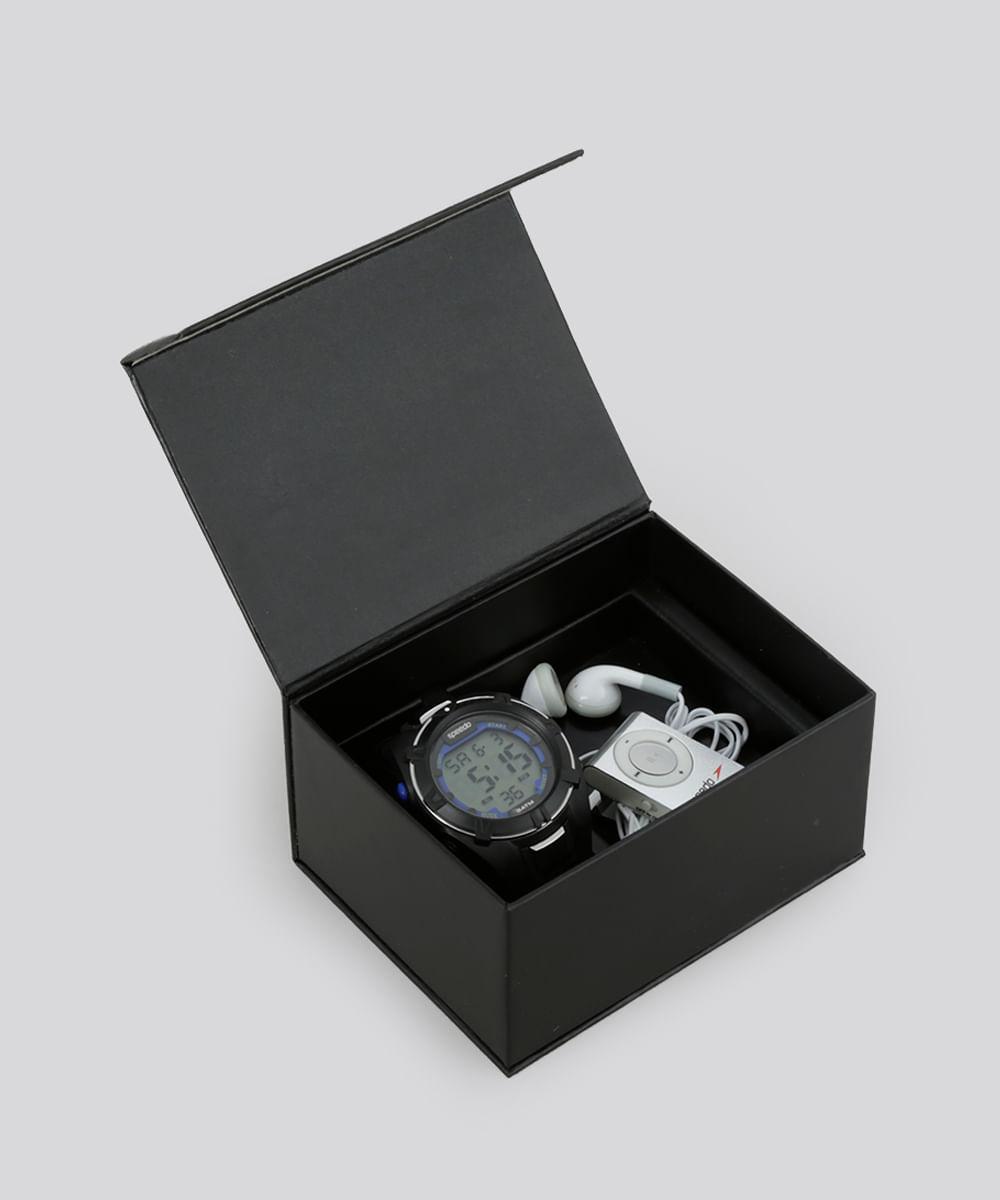 f114b2f5fb3 CEA. Kit de Relógio Speedo Masculino Digital ...