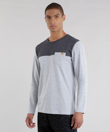 Camiseta-com-Recorte-Cinza-Mescla-8575570-Cinza_Mescla_1