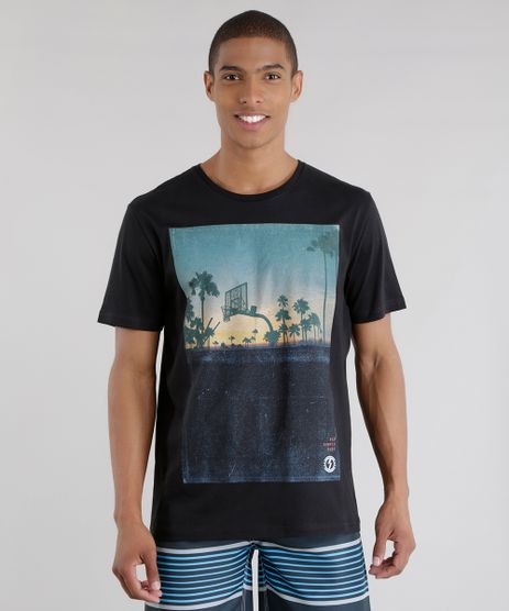 Camiseta--Simple-Surf--Preta-8568999-Preto_1