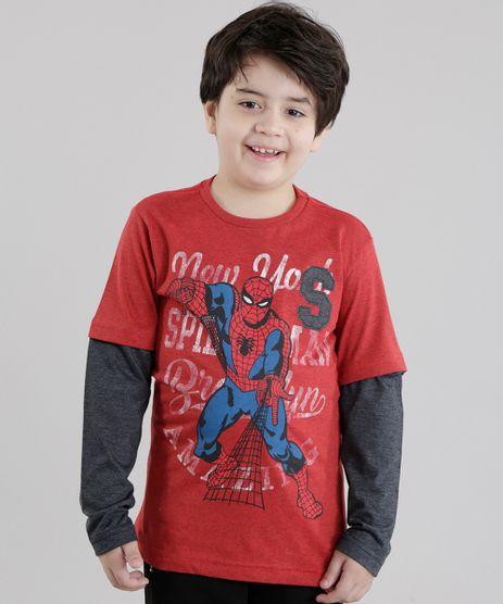 Camiseta-Homem-Aranha-Vermelha-8630096-Vermelho_1