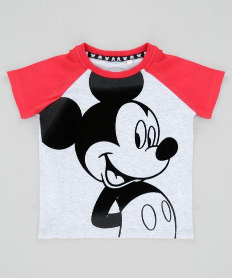 Camiseta-Mickey-Cinza-Mescla-8647280-Cinza_Mescla_1