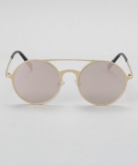 Oculos-Redondo-Feminino-Oneself-Dourado-8677458-Dourado_1