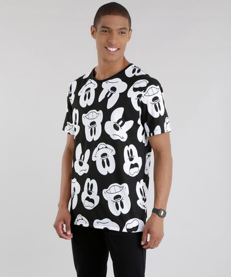 Camiseta-Estampada-Mickey-Preta-8581542-Preto_1