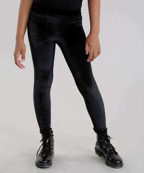 Calca-legging-em-Veludo-Molhado-Preta-8639608-Preto_1
