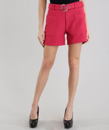 Short-em-Piquet-com-Cinto-Pink-8546147-Pink_1