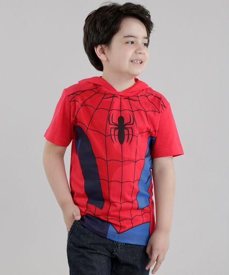 Camiseta-Homem-Aranha-com-Capuz-Vermelha-8630048-Vermelho_1