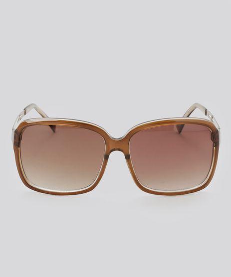 Oculos-Quadrado-Feminino-Oneself-Marrom-8354428-Marrom_1