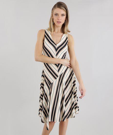 Vestido-Listrado-Assimetrico-Bege-8655725-Bege_1