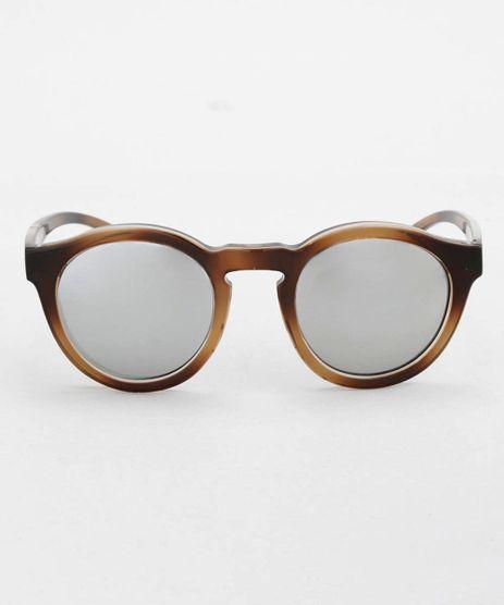 Oculos-Redondo-Feminino-Oneself-Marrom-8628917-Marrom_1