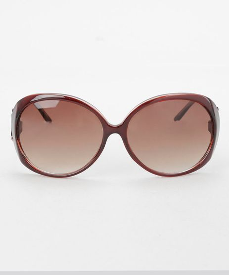 Oculos-Redondo-Feminino-Oneself-Marrom-8354431-Marrom_1
