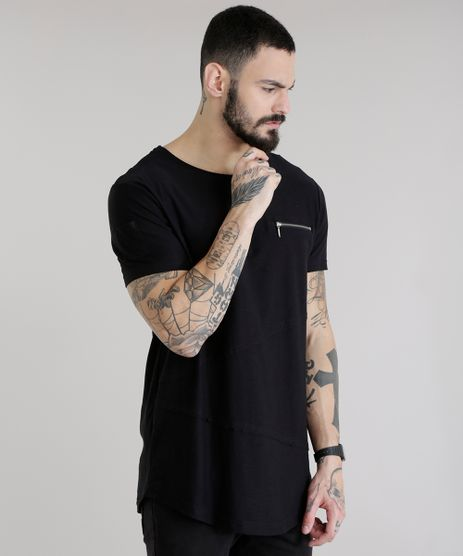 Camiseta-Longa-com-Recortes-Preta-8654520-Preto_1