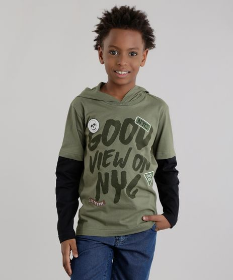 Camiseta-com-Capuz--Good-View-On-NYC--Verde-Militar-8618335-Verde_Militar_1