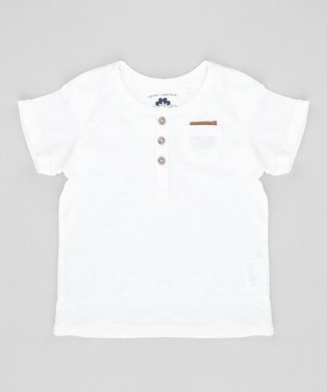Camiseta-com-Bolso-em-Algodao---Sustentavel-Off-White-8571263-Off_White_1