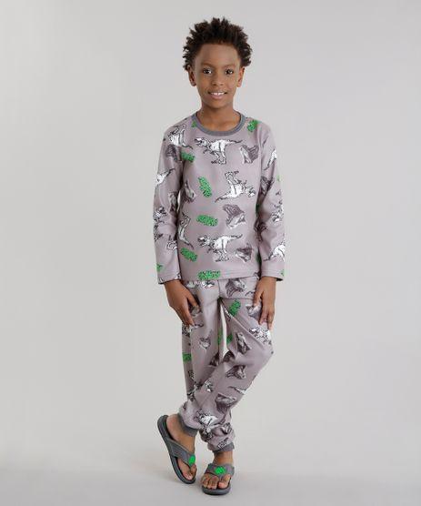 Pijama-Estampado-de-Dinossauros-Cinza-8632018-Cinza_1