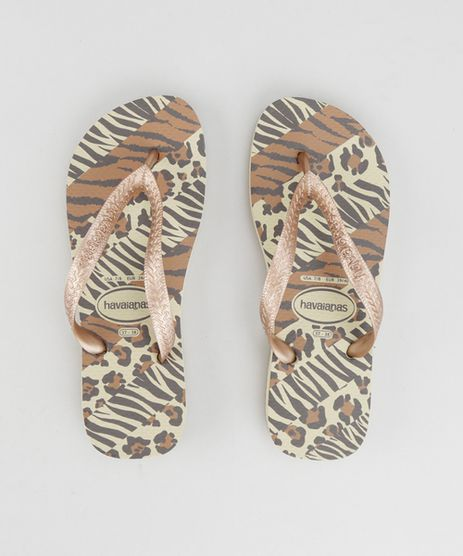 Chinelo-Havaianas-Estampado-Animal-Print-Bege-8425114-Bege_1