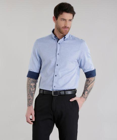 Camisa-Slim-em-Algodao---Sustentavel-Azul-Claro-8578434-Azul_Claro_1