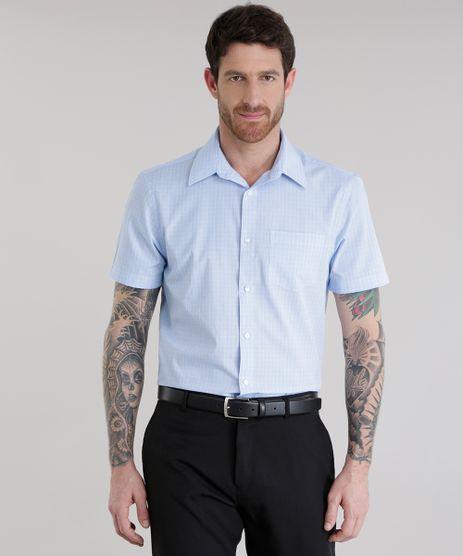 Camisa-Comfort-Xadrez-Azul-Claro-8578340-Azul_Claro_1