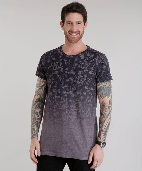 Camiseta-Longa-com-Estampa-Floral-Roxa-8586079-Roxo_1