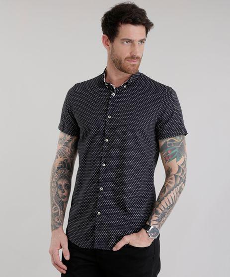 Camisa-Slim-Estampada-Preta-8629374-Preto_1